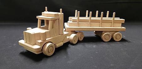 Hračky - Drevené auto hračka - 11347956_