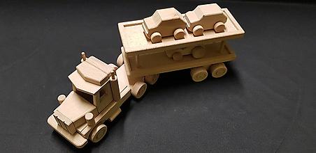 Hračky - Drevené auto hračka - 11347991_