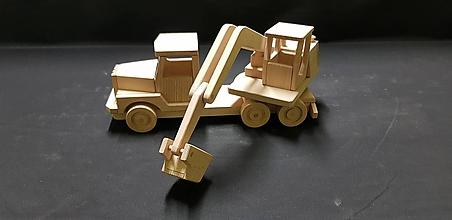 Hračky - Drevené auto hračka - 11348005_