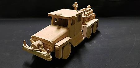 Hračky - Drevené auto hračka - 11348022_