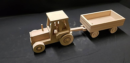 Hračky - Drevené auto hračka - 11348038_
