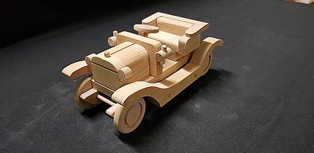 Hračky - Drevené auto hračka - 11348068_