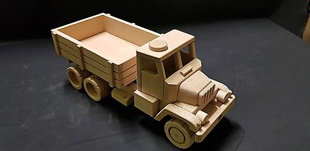 Hračky - Drevené auto hračka - 11348079_