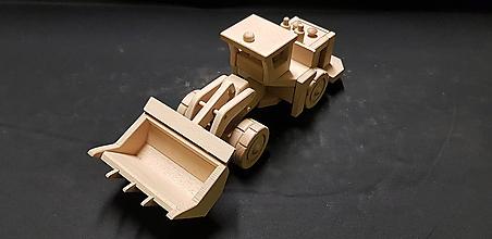 Hračky - Drevené auto hračka - 11348087_
