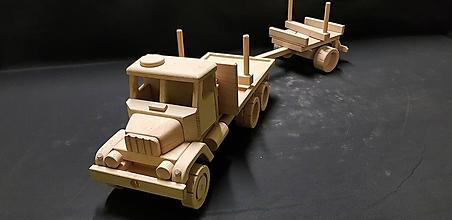 Hračky - Drevené auto hračka - 11348098_