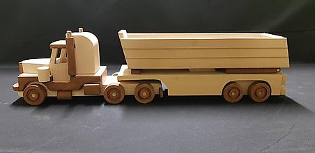 Hračky - Drevené auto hračka - 11348185_