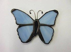 Dekorácie - Motýlik - 11349873_
