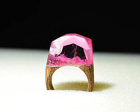 Prstene - Drevený prsteň Rory - 11350815_