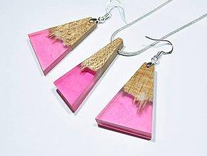 Sady šperkov - Drevený set Candy - 11351061_