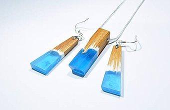 Sady šperkov - Drevený set frozen - 11351101_