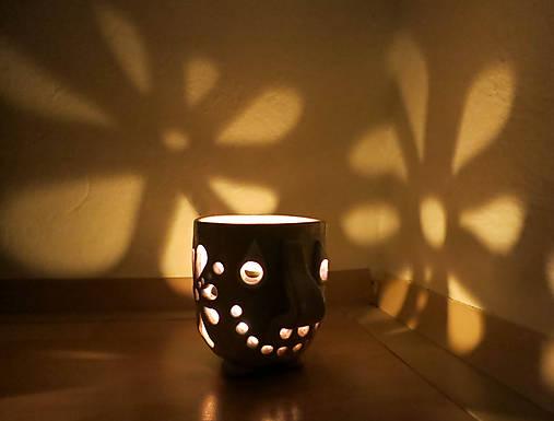 pohárik - lampášik