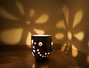 Svietidlá a sviečky - pohárik - lampášik - 11349397_