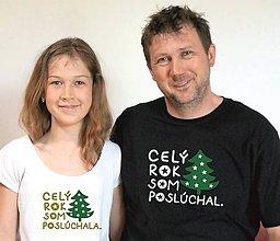 Tričká - vianočné tričko pre malých aj veľkých - 11351599_