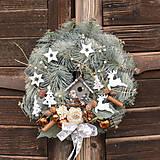 Dekorácie - Vianočný veniec - 11349250_