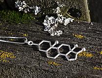 Náhrdelníky - Adrenalín na retiazke v striebre - 11349181_