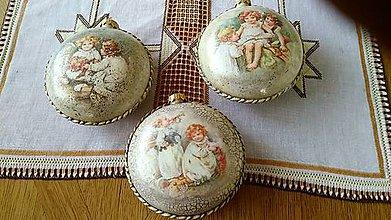 Dekorácie - Vianočné ozdoby - 11349845_
