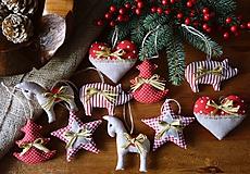 Dekorácie - Vianočné ozdoby - vidiek - 11349997_