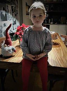 """Detské oblečenie - detský top """"hviezdny"""" - 11348638_"""