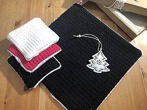 Úžitkový textil - Vianočný set pre Kráľovnú noci - 11351237_