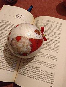 Dekorácie - Vianočná guľa - 11350402_