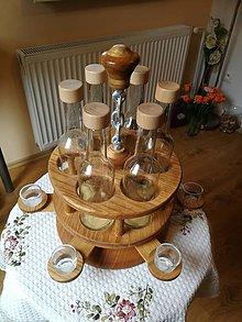 Iné - Stojan na fľaše - 11350808_