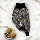 Detské oblečenie - Zimné softshellové nohavice bágre - 11350415_