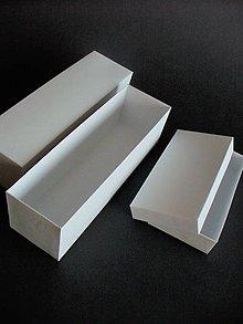 Krabičky - krabička/ obdĺžnik/ všetky farby (Modrá) - 11350082_