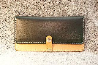 Peňaženky - Dámska peňaženka Aviator (Zelená) - 11351147_