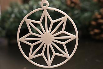 Dekorácie - Vianočná ozdoba - hviezda 2 - 11350164_