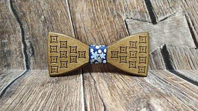 Doplnky - Pánsky drevený motýlik PAN ORECH - 11348281_