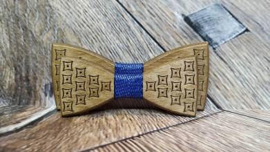 Doplnky - Pánsky drevený motýlik PAN ORECH otec a syn - 11348749_