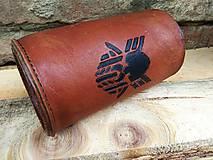 Iné - Kožený krígeľ Viking - 11351260_