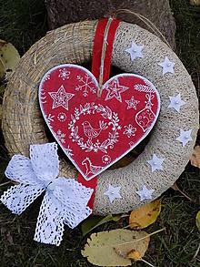 Dekorácie - Vianočný veniec - 11353009_
