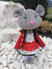 Hračky - Myšička - 11354237_