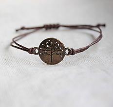 """Náramky - náramok """"strom života"""" (čokoládová) - 11352666_"""