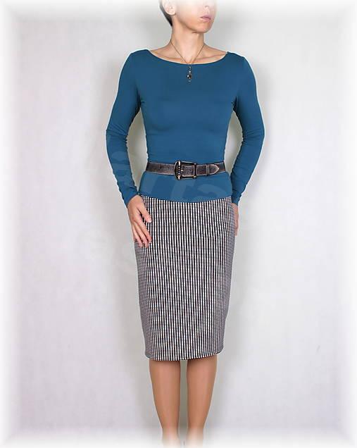 Sukně luxusní úplet,podzim,zima vz.672