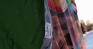 Úžitkový textil - hodvábna deka Acapulco - 11353263_