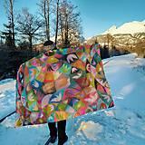 Úžitkový textil - hodvábna deka Acapulco - 11353265_