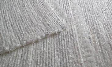 Úžitkový textil - Koberčeky biele - 11352174_
