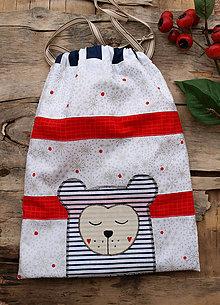 Textil - vrecko mackoLasko - 11353447_