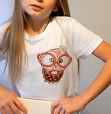Detské oblečenie - Detské tričko - OčiPuči Sladká LULU - 11354413_