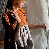 Detské oblečenie - šaty PRINCESS karamelky - 11353905_