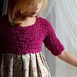 Detské oblečenie - šaty PRINCESS exclusive ♥ - 11353933_