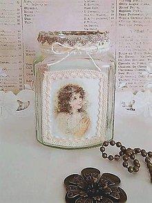 Svietidlá a sviečky - vintage svietnik s anjelikmi - 11354205_