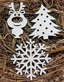 Dekorácie - 3 vianočné gule - 11354706_