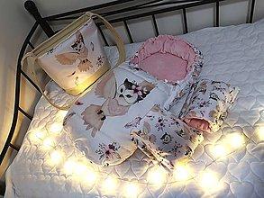 Textil - Fusak, rukavičky a taška na kočík - 11354663_