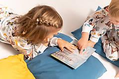Detské oblečenie - Etela Letela pyžamko + knižka - 11355041_