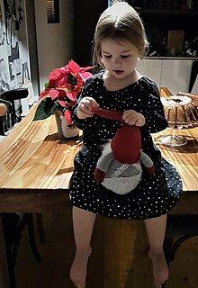 """Detské oblečenie - šaty """"hviezdne"""" - 11353258_"""
