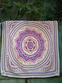 Úžitkový textil - romantická deka - 11353353_