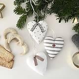 """Dekorácie - Srdiečka """"Tradičné Vianoce""""-sada - 11352253_"""